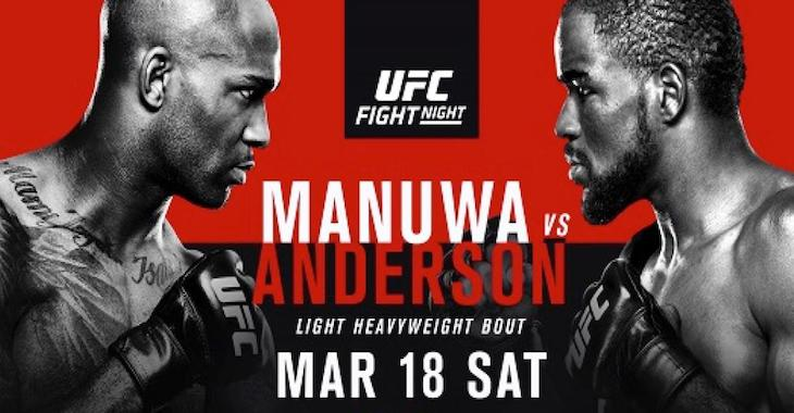 [Vídeo] UFC Londres: Manuwa vs Anderson: Evento Completo, com Todas as Lutas